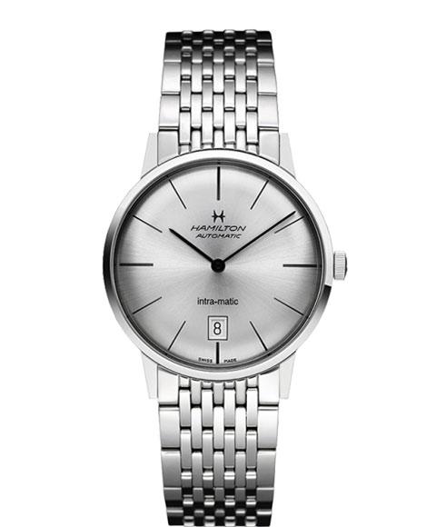 ハミルトン イントラマティック H38455151 腕時計 メンズ HAMILTON INTRA MATIC 自動巻 メタルブレス