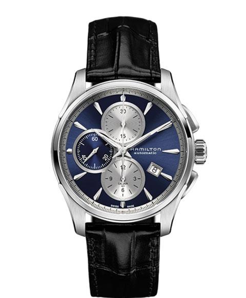 ハミルトン ジャズマスター H32596741 腕時計 メンズ HAMILTON JAZZMASTER 自動巻 レザーストラップ ブルー系