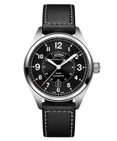 ハミルトン カーキ フィールド H70505733 腕時計 メンズ HAMILTON KHAKI FIELD 自動巻 レザーストラップ