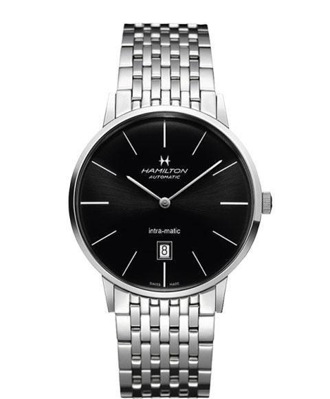 ハミルトン アメリカン クラシック イントラマティック H38755131 腕時計 メンズ HAMILTON TIMELESS CLASSIC INTRA MATIC クロノグラフ 自動巻 メタルブレス