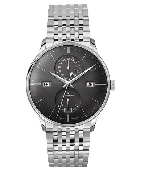 特価品 ユンハンス マイスター アジェンダ 027 4568 45 英語表記 腕時計 自動巻き メンズ JUNGHANS Meister Agenda 027/4568.45 メタルブレス