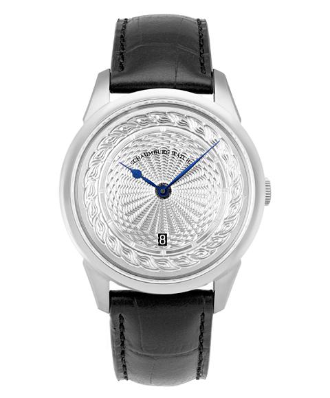 海外取り寄せ(納期:お問合せ下さい) シャウボーグ ウニカトリウム MARLEMATIC 腕時計 メンズ SCHAUMBURG UNIKATORIUM HAND MAIDE MARLEMATIC 自動巻 レザーストラップ