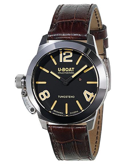 ユーボート クラシコ ストラトス 40 BK 9002 腕時計 メンズ U-BOAT CLASSICO STRATOS 40 BK レザーストラップ