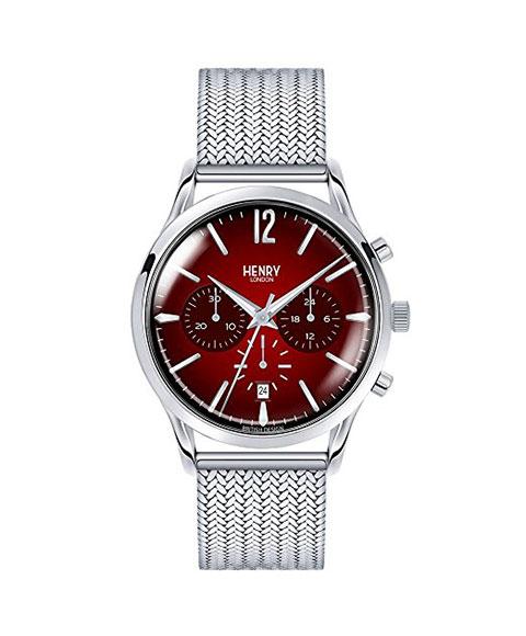ヘンリーロンドン チャンスリー HL41-CM-0101 腕時計 メンズ HENRY LONDON CHANCERY メタルブレス