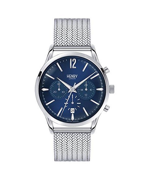 ヘンリーロンドン ナイツブリッジ HL41-CM-0037 腕時計 メンズ HENRY LONDON KNIGHTSBRIDGE メタルブレス