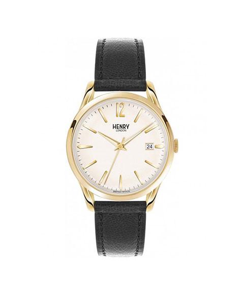 ヘンリーロンドン ウェストミンスター HL39-S-0010 腕時計 メンズ レディース ユニセックス HENRY LONDON WESTMINSTER ゴールド レザーストラップ