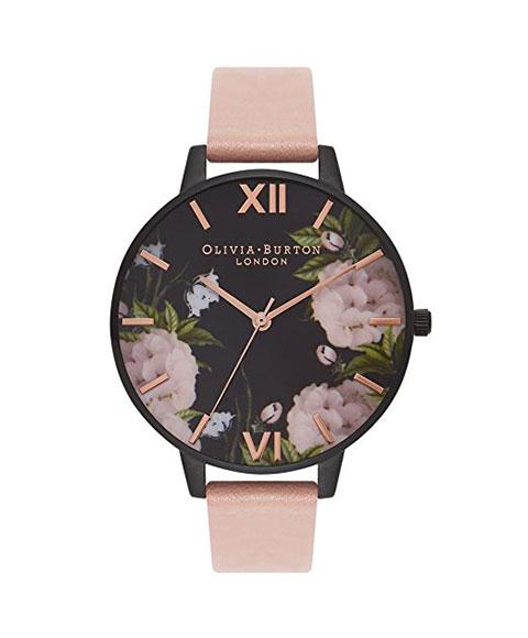 オリビアバートン ビッグダイアル OB15EG41 腕時計 レディース OLIVIA BURTON BIG DIAL レザーストラップ