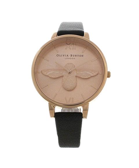 オリビアバートン ビッグダイアル OB14AM58 腕時計 レディース OLIVIA BURTON BIG DIAL ゴールド レザーストラップ