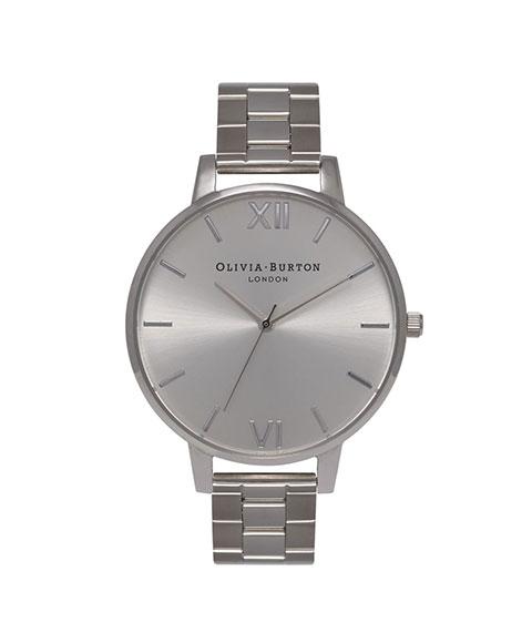 オリビアバートン ビッグダイアル OB15BL22 腕時計 レディース OLIVIA BURTON BIG DIAL メタルブレス