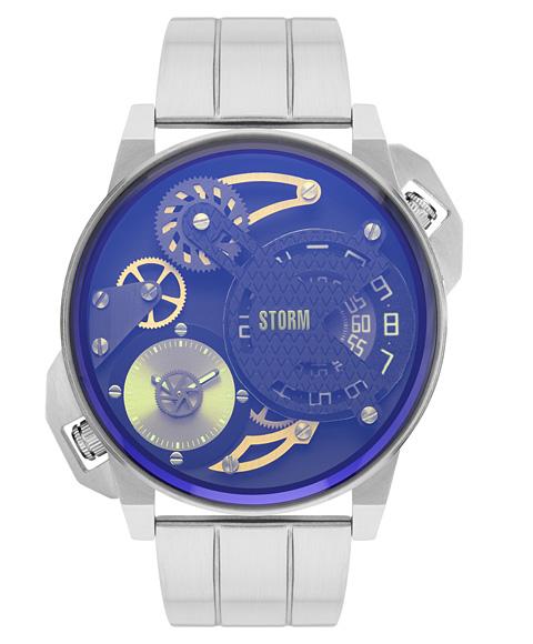 ストーム ロンドン 47410LB DUALMATION LAZER BLUE 腕時計 メンズ STORM LONDON ブルー系