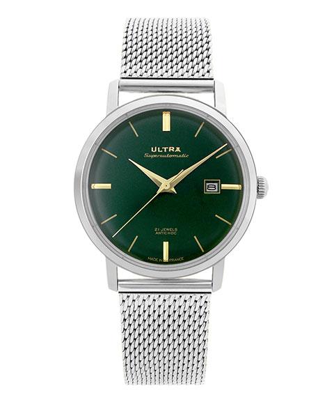 ウルトラ スーパーオートマティック US172SM 腕時計 メンズ 自動巻き ULTRA SUPERAUTOMATIC クロノグラフ メタルブレス