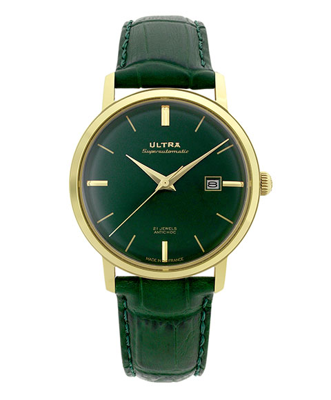 ウルトラ スーパーオートマティック US272ER 腕時計 メンズ 自動巻き ULTRA SUPERAUTOMATIC ゴールド レザーストラップ