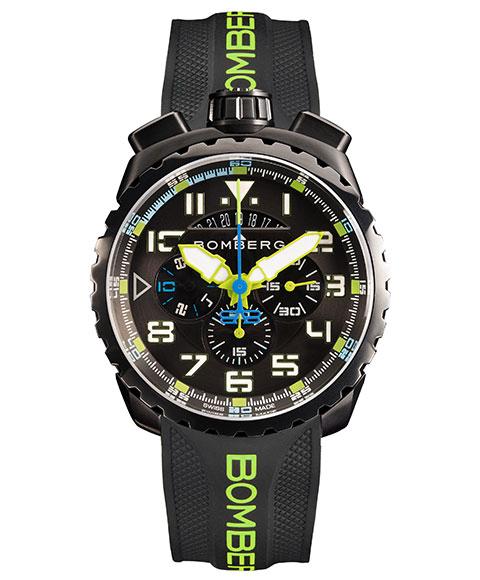 ボンバーグ BOLT-68 BS45CHPBA.050-10.3 腕時計 メンズ クォーツ BOMBERG グリーン
