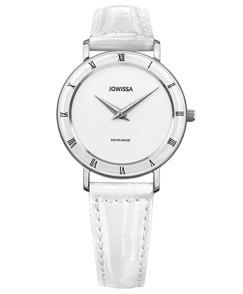 ジョウィサ ローマ 2.274.M 腕時計 レディース JOWISSA Roma レザーストラップ ホワイト系