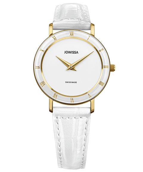 ジョウィサ ローマ 2.276.M 腕時計 レディース JOWISSA Roma クロノグラフ ゴールド レザーストラップ ホワイト系