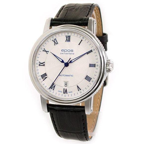エポス 3390RWH メンズ 腕時計 自動巻き ETA 2892-A2 シースルー epos