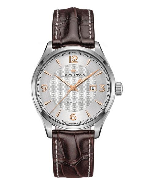 ハミルトン ジャズマスター ビューマチック H32755551 腕時計 メンズ HAMILTON JAZZMASTER VIEWMATIC 自動巻 レザーストラップ ブラウン系