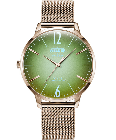 ウェルダー ムーディ ウェルダースリム WRS625 腕時計 レディース WELDER MOODY SLIM 3HANDS 36MM
