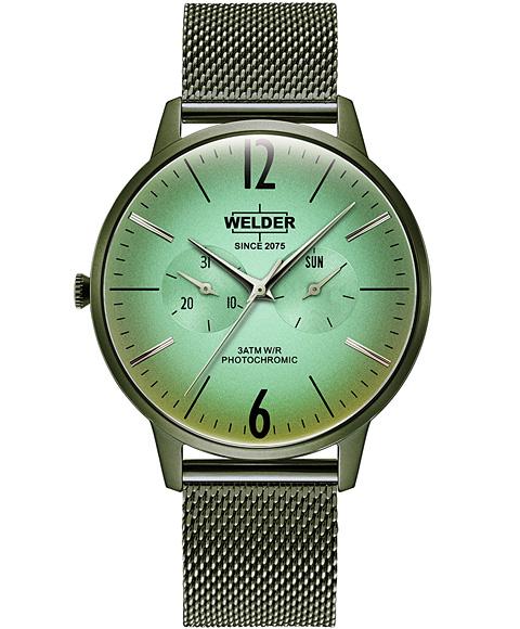 Outlet Sale 特価品 ウェルダー ムーディ ウェルダースリム WWRS419 腕時計 DAY SLIM 通販 激安 DATE 新作 WELDER 42MM メンズ オリーブ系 MOODY