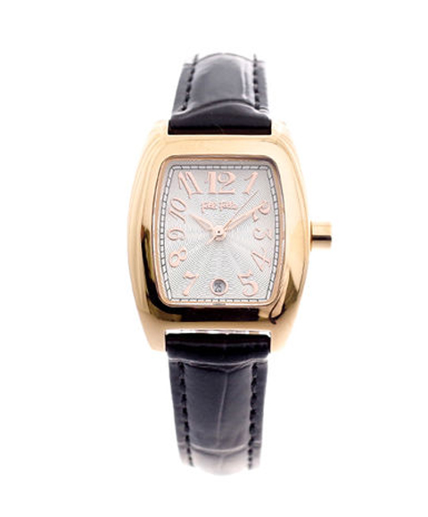 フォリフォリ デビュタント wf5r080sds-bk 腕時計 レディース FolliFollie DEBUTANT ローズゴールド レザーストラップ