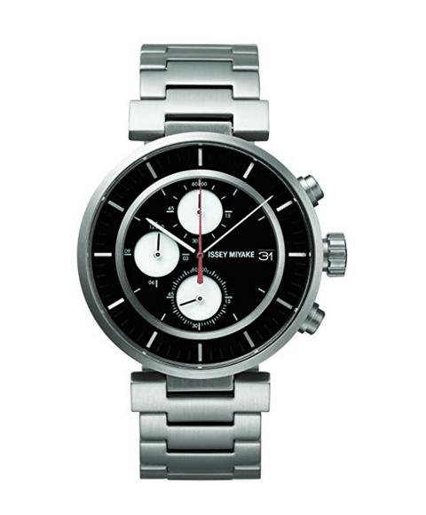 イッセイミヤケ ダブリュ SILAY001 腕時計 ユニセックス ISSEY MIYAKE W メタルブレス 和田智 誕生日プレゼント 和製クロノグラフ