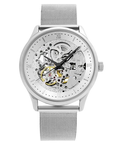 アルカフトゥーラ メカニカルスケルトン 101101WHSS-M 自動巻 腕時計 メンズ ARCAFUTURA