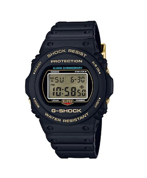 カシオ ジーショック DW-5735D-1B 腕時計 メンズ CASIO G-SHOCK Gショック 35th Anniversary ゴールド 防水