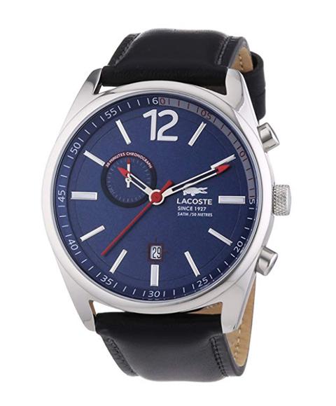 ラコステ 2010729 腕時計 メンズ LACOSTE レザーベルト 誕生日プレゼント ペアウォッチ ※時計は1点での価格です。 ブルー系