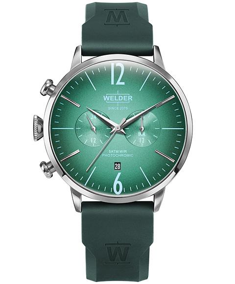 ウェルダー ムーディ ラバーストラップ WWRC518 腕時計 メンズ WELDER MOODY DUAL TIME 45MM RUBBER STRAP レザーストラップ