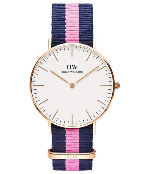 ダニエルウェリントン クラシック ウィンチェスター 0505DW(DW00100033) 腕時計 ユニセックス DANIEL WELLINGTON Classic Winchester ゴールド メンズ レディース ブルー系
