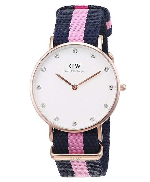 ダニエルウェリントン クラシック ウィンチェスター 0952DW(DW00100077) 腕時計 レディース DANIEL WELLINGTON Classic Winchester ゴールド ブルー系