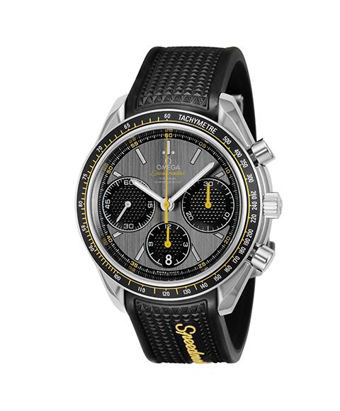 オメガ スピードマスター 326.32.40.50.06.001 腕時計 メンズ OMEGA SPEEDMASTER ラバーベルト グレー プレゼント ラッピング無料 クリスマスプレゼント