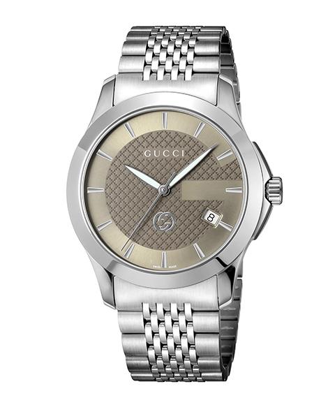 グッチ G-Timeless YA1264107 腕時計 メンズ GUCCI G-タイムレス メタルブレス 防水 プレゼント ラッピング無料 送料無料