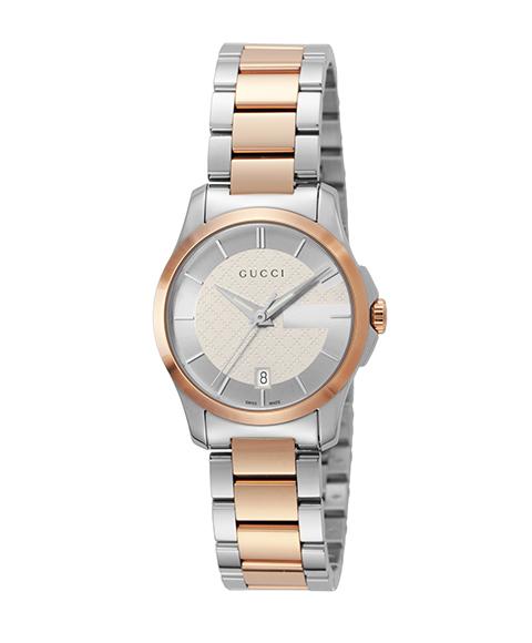 グッチ G-Timeless YA126528 腕時計 レディース GUCCI G-タイムレス メタルブレス 防水 プレゼント ラッピング無料 送料無料
