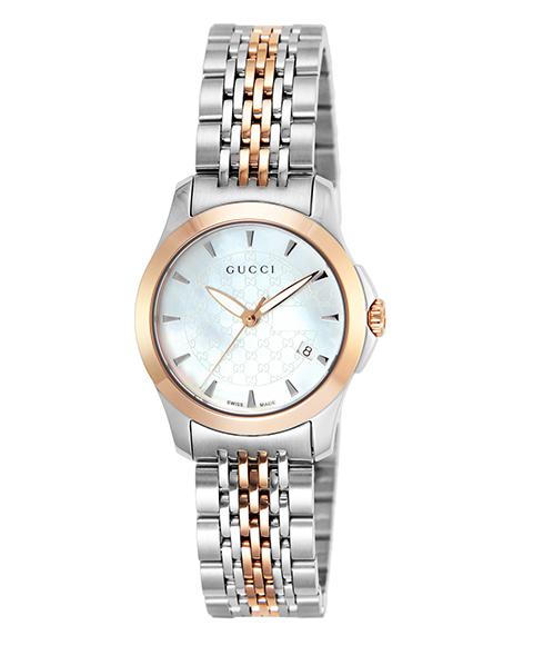 グッチ G-Timeless YA126537 腕時計 レディース GUCCI G-タイムレス メタルブレス 防水 プレゼント ラッピング無料 送料無料
