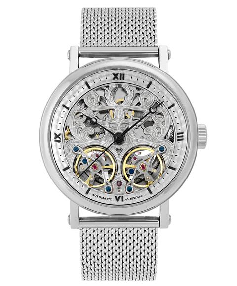 アルカフトゥーラ メカニカルスケルトン 091601RBK-M 自動巻 腕時計 メンズ ARCAFUTURA
