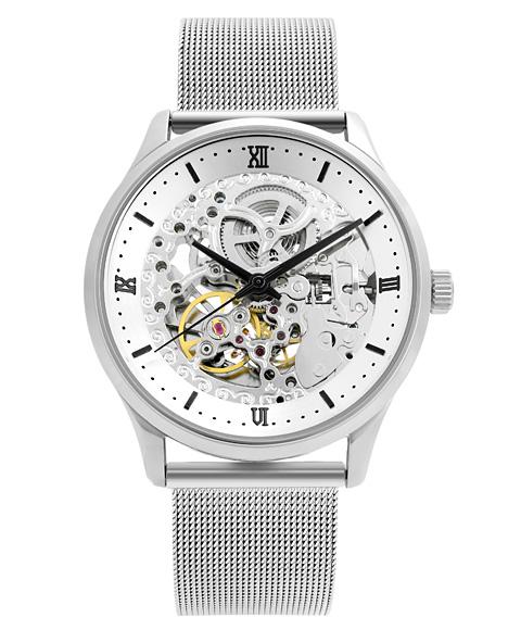 アルカフトゥーラ メカニカルスケルトン 101101WHBK-M 自動巻 腕時計 メンズ ARCAFUTURA