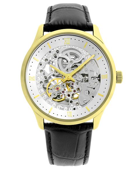 アルカフトゥーラ メカニカルスケルトン 101101YGWHYGBK 自動巻 腕時計 メンズ ARCAFUTURA