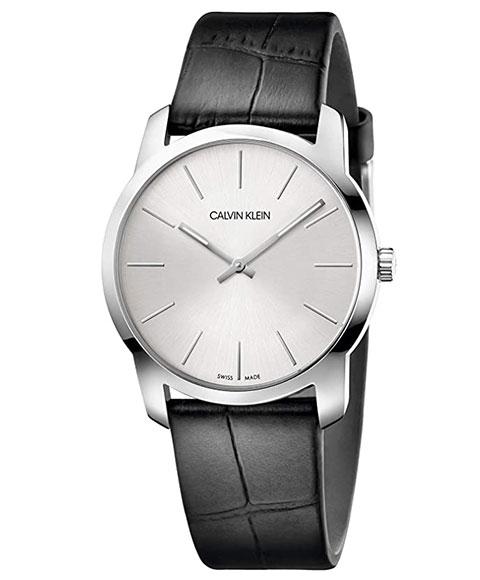 カルバンクライン シティ K2G221C6 腕時計 メンズ レディース ユニセックス CALVIN KLEIN City レザーストラップ