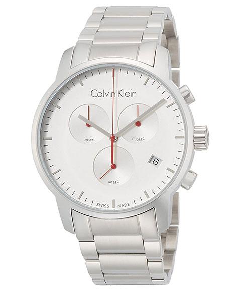 カルバンクライン シティ K2G271Z6 腕時計 メンズ CALVIN KLEIN City クロノグラフ メタルブレス