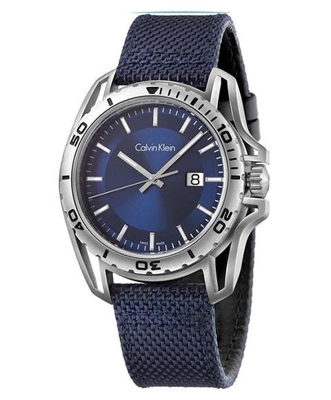 カルバンクライン アース K5Y31UVN 腕時計 メンズ CALVIN KLEIN Earth ブルー系