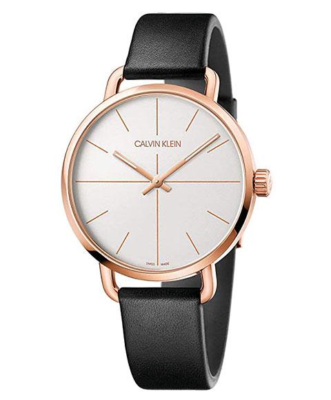 カルバンクライン イーブン エクステンション K7B216C6 腕時計 メンズ CALVIN KLEIN Even Extension ゴールド レザーストラップ