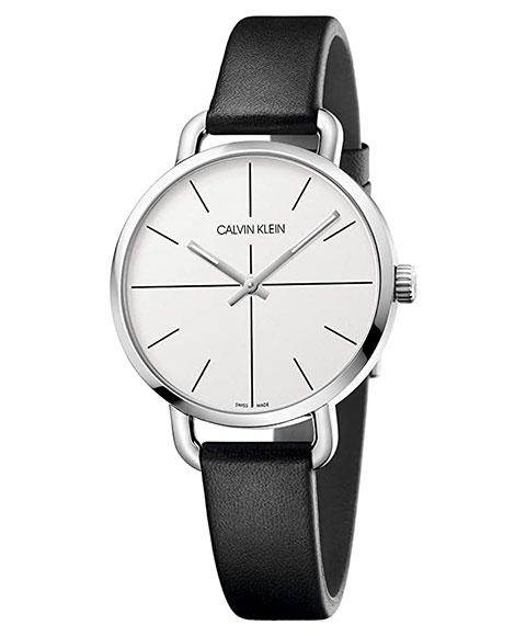 カルバンクライン イーブン エクステンション K7B231CY 腕時計 レディース CALVIN KLEIN Even Extension レザーストラップ