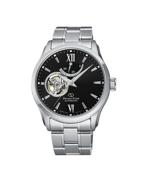 オリエントスター コンテンポラリー RK-AT0001B 腕時計 メンズ ORIENT STAR ブラック系 新着セール メタルブレス 格安 CONTEMPORALY ビジネスウォッチ セミスケルトン プレゼント 父の日