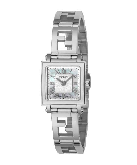 フェンディ クワドロ ミニ F605024500   腕時計 レディース FENDI QUADORO MINI メタルブレス フェンディモンスター シルバー クォーツ プレゼント