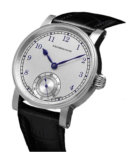 シャウボーグ ウニカトリウム マリン UNIKATORIUM-MARINE 腕時計 メンズ SCHAUMBURG レザーストラップ