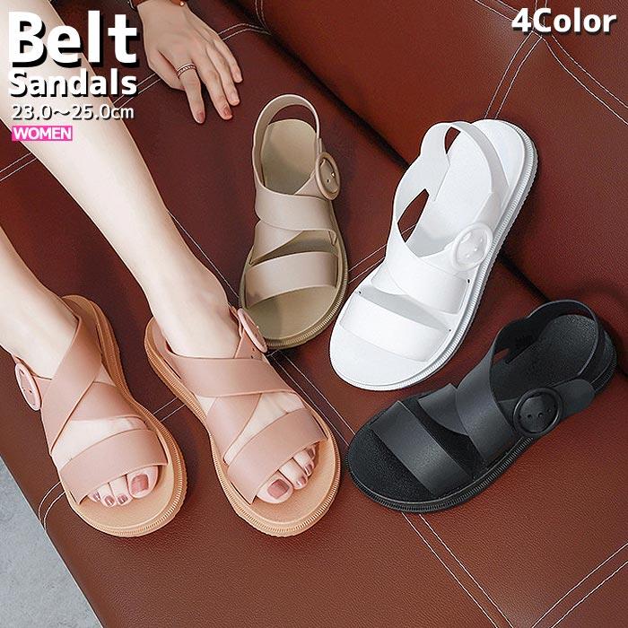 サンダル レディース ストラップサンダル ベルトサンダル 軽量 おしゃれ かわいい おすすめ ^bm1029^ 人気 23cm~25cm ブランド買うならブランドオフ シューズ 格安 価格でご提供いたします 靴