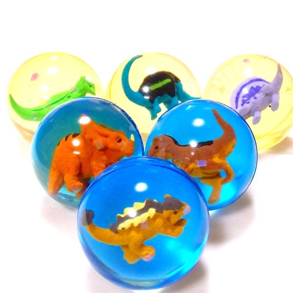 [正規販売店] スーパーボール 恐竜フィギュア 45mm 25個セット{スーパーボール すくい すくいどり 公式 縁日 景品 オモチャ おもちゃ 玩具 お祭り どうぶつ 浮く}