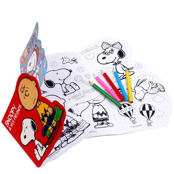 楽天市場スヌーピーぬりえセット 24個入 おもちゃ 子供会 イベント