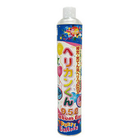 ヘリカンくん 格安店 メタリック風船専用ヘリウムガス補充缶 日本メーカー新品